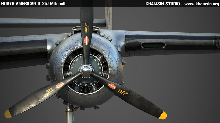 North American B-25J Mitchell - X-Plane 11