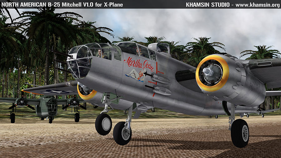 North American B-25 Mitchell V1.0 X-Plane 10