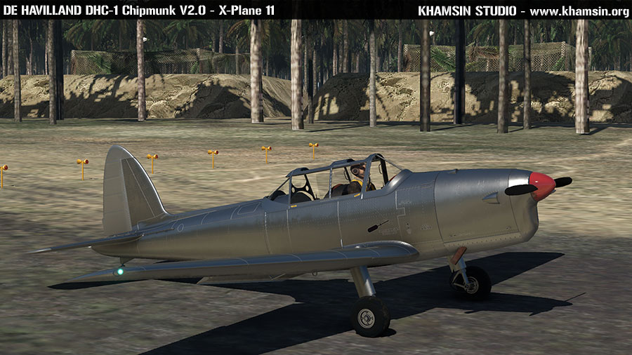 De Havilland DHC1 Chipmunk V2.0 - X-Plane 11