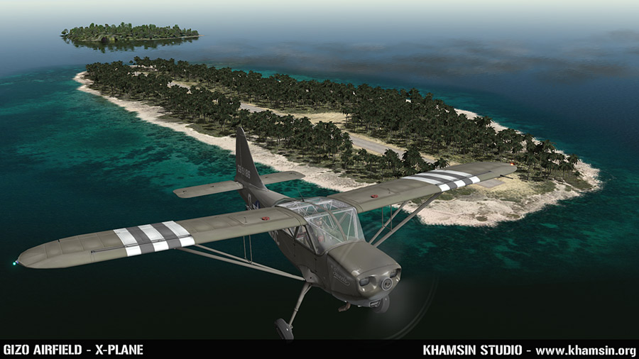 PACIFIC ISLANDS - Gizo airfield for X-Plane - WIP