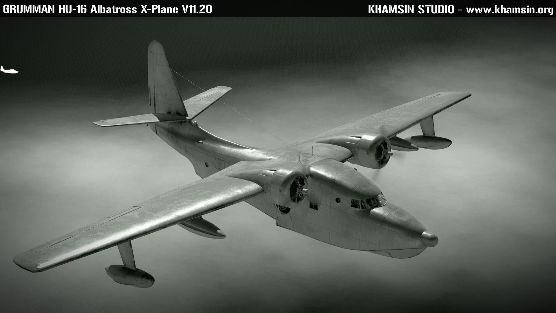 GRUMMAN HU-16 Albatross - New external 3D model - X-Plane