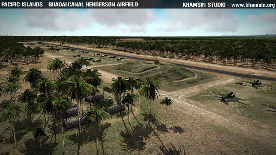 Guadalcanal - Pacific Islands - Test terrain X-Plane