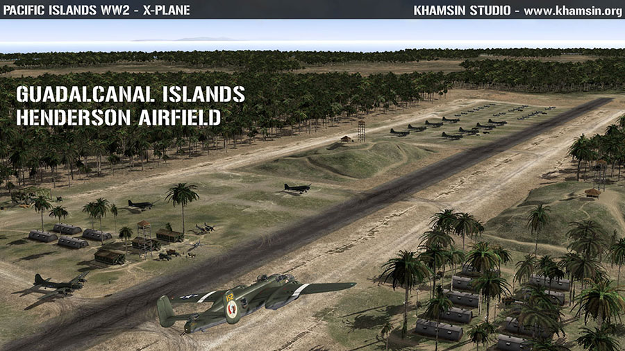 Pacific Islands WW2 V1.5 - X-Plane - www.khamsin.org