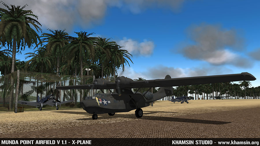 PACIFIC ISLANDS - Munda Point airfield for X-Plane