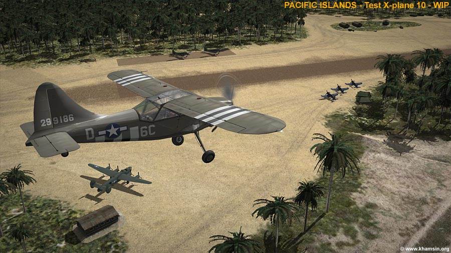 PACIFIC ISLANDS - Munda airfield for X-Plane - WIP