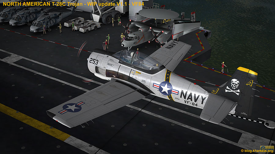 North American T-28 Trojan for X-Plane