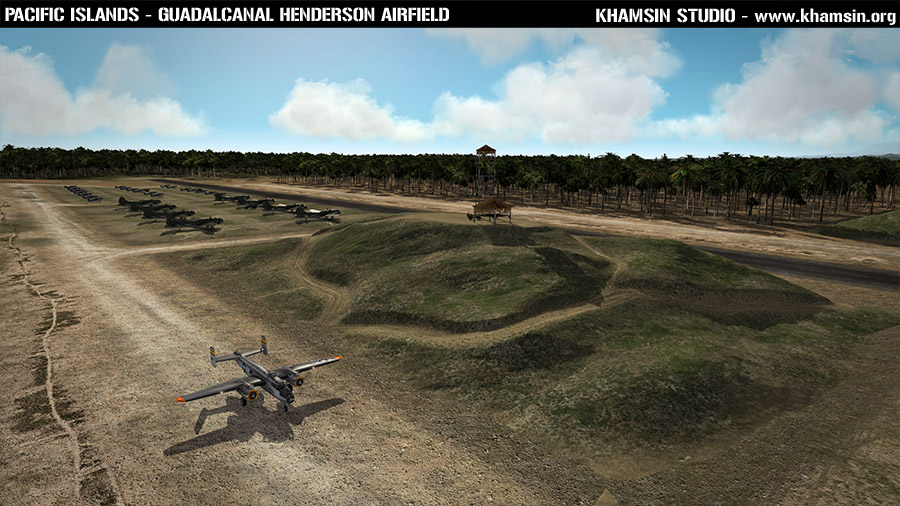 Pacific Islands - Guadalcanal - Henderson Airfield - Work in Progress - X-Plane 10