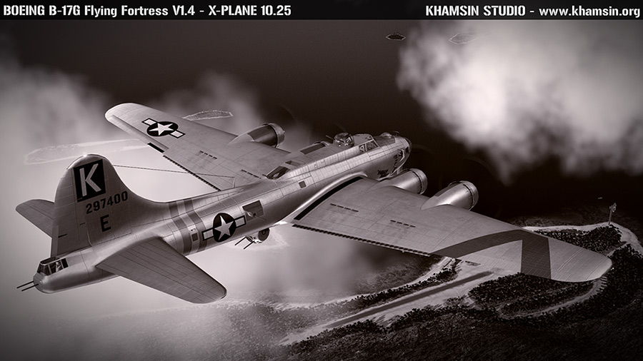 Boeing B-17 Flying Fortress V1.4 for X-Plane 10