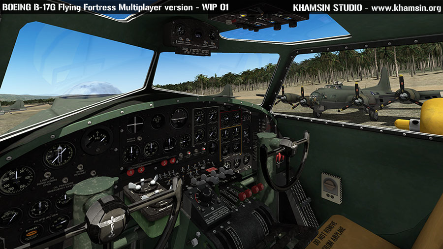 Boeing B-17 Flying Fortress Multiplayer X-Plane 10