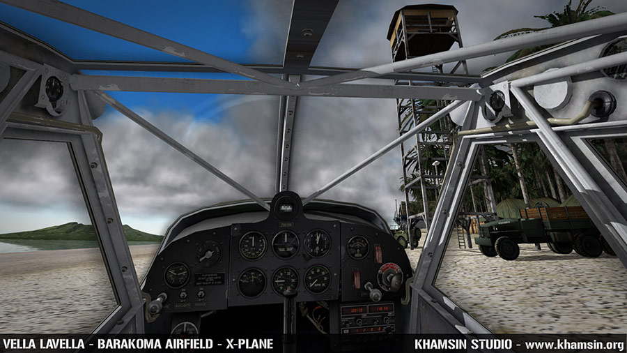 PACIFIC ISLANDS - Vella Lavella - Barakoma airfield for X-Plane - WIP